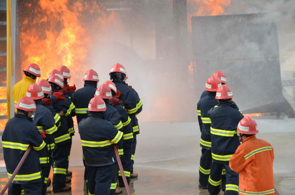 Fire Fighting Training in Indonesia and Singapore